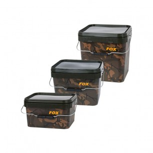 Kibiras Fox Camo Square Bucket