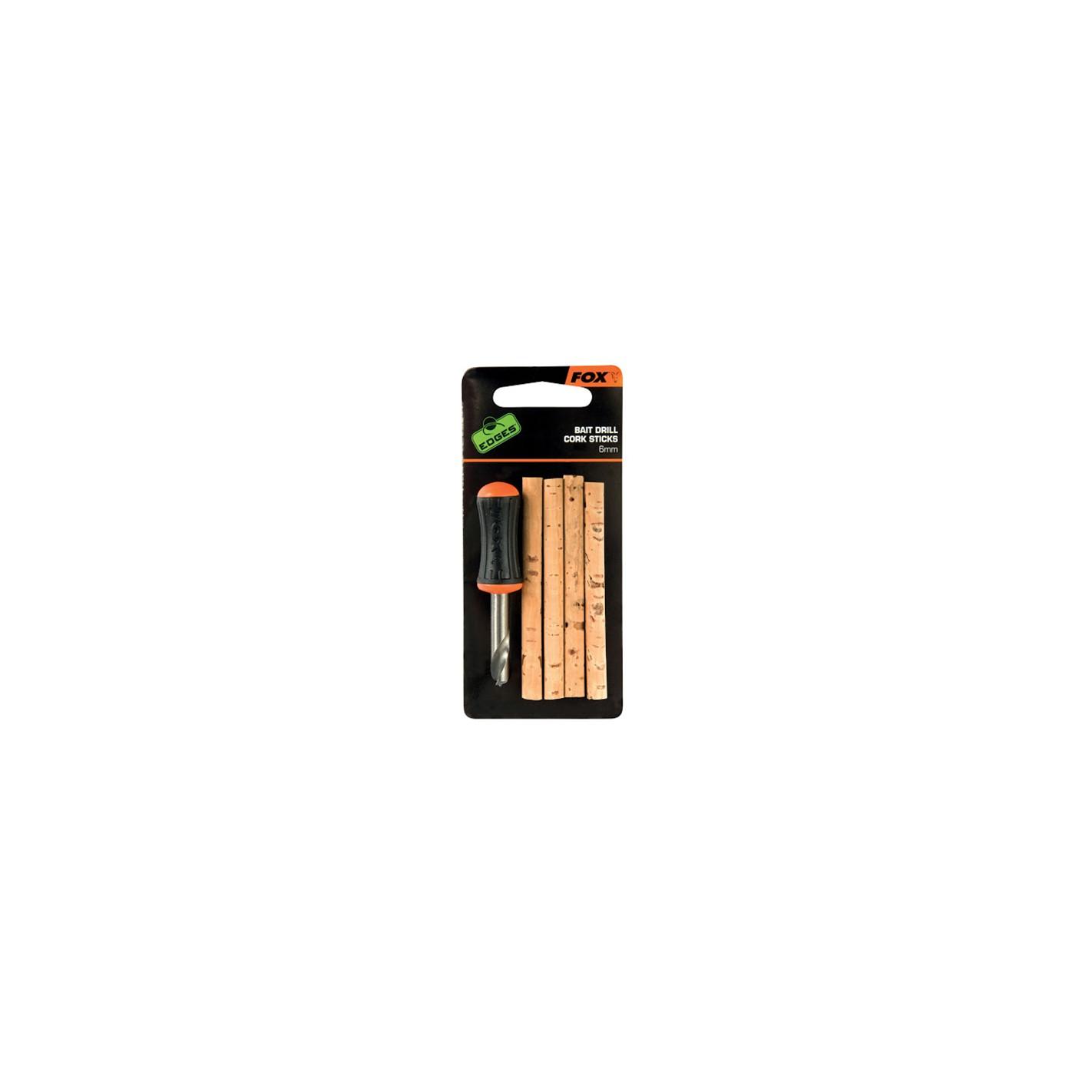 6mm Fox Edges Bait Drill /& Cork Sticks